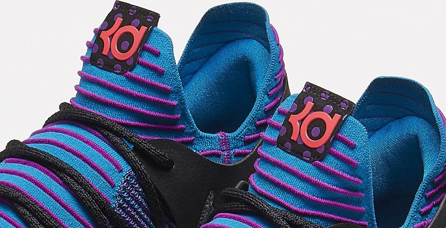 Nike KD 10 Doernbecher Sample Tongue