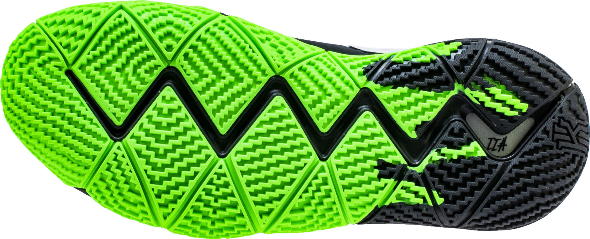 new product 1fb23 bd5a4 Nike Kyrie 4 Black Rage Green Halloween Release Date 943806 ...
