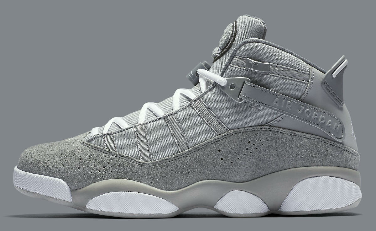 Jordan 6 Rings 2017 Cool Grey Release Date Profile 322992-014