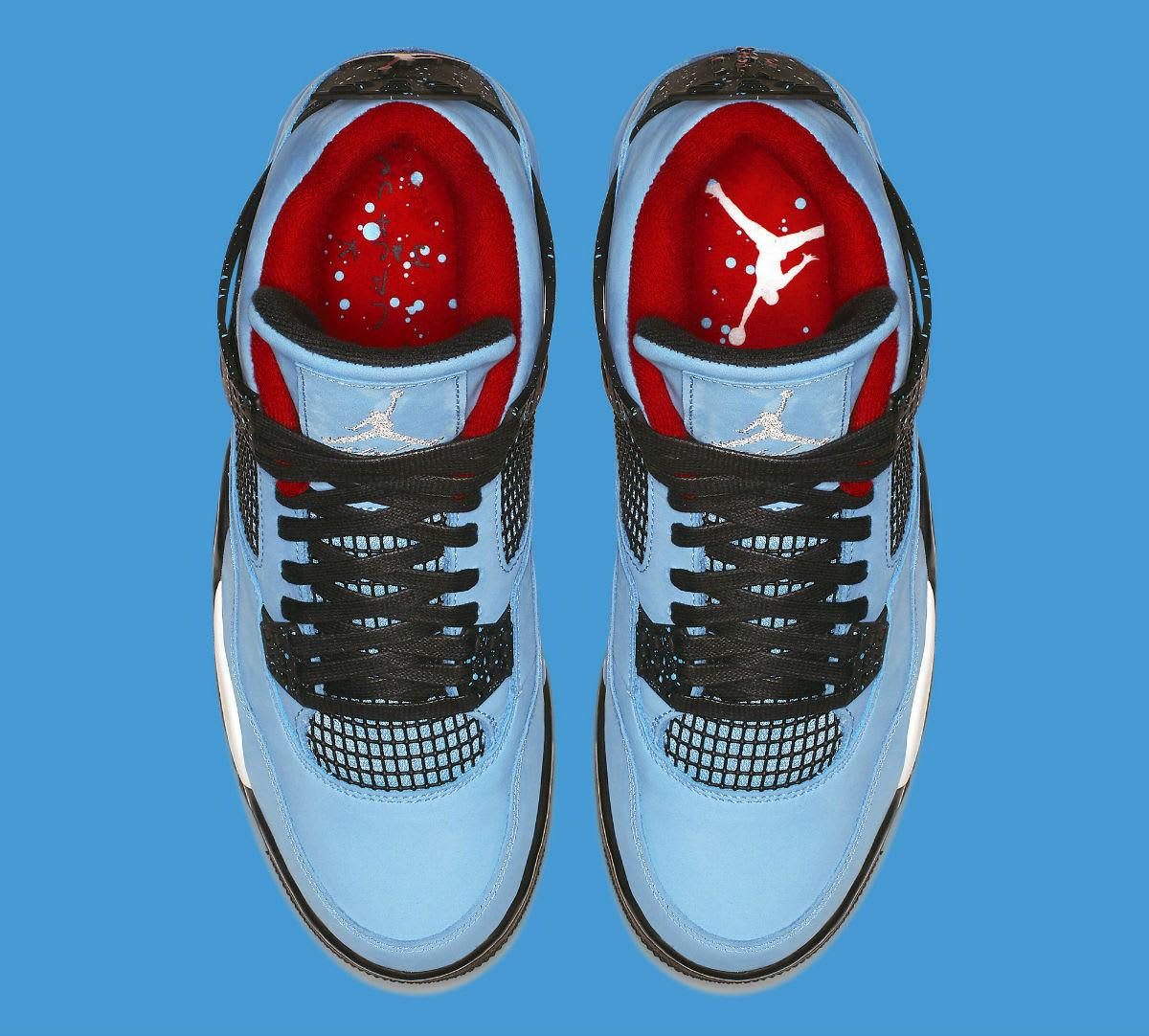 28fac9b3bb9 Travis Scott x Air Jordan 4  Houston Oilers  308497-406 Release Date ...