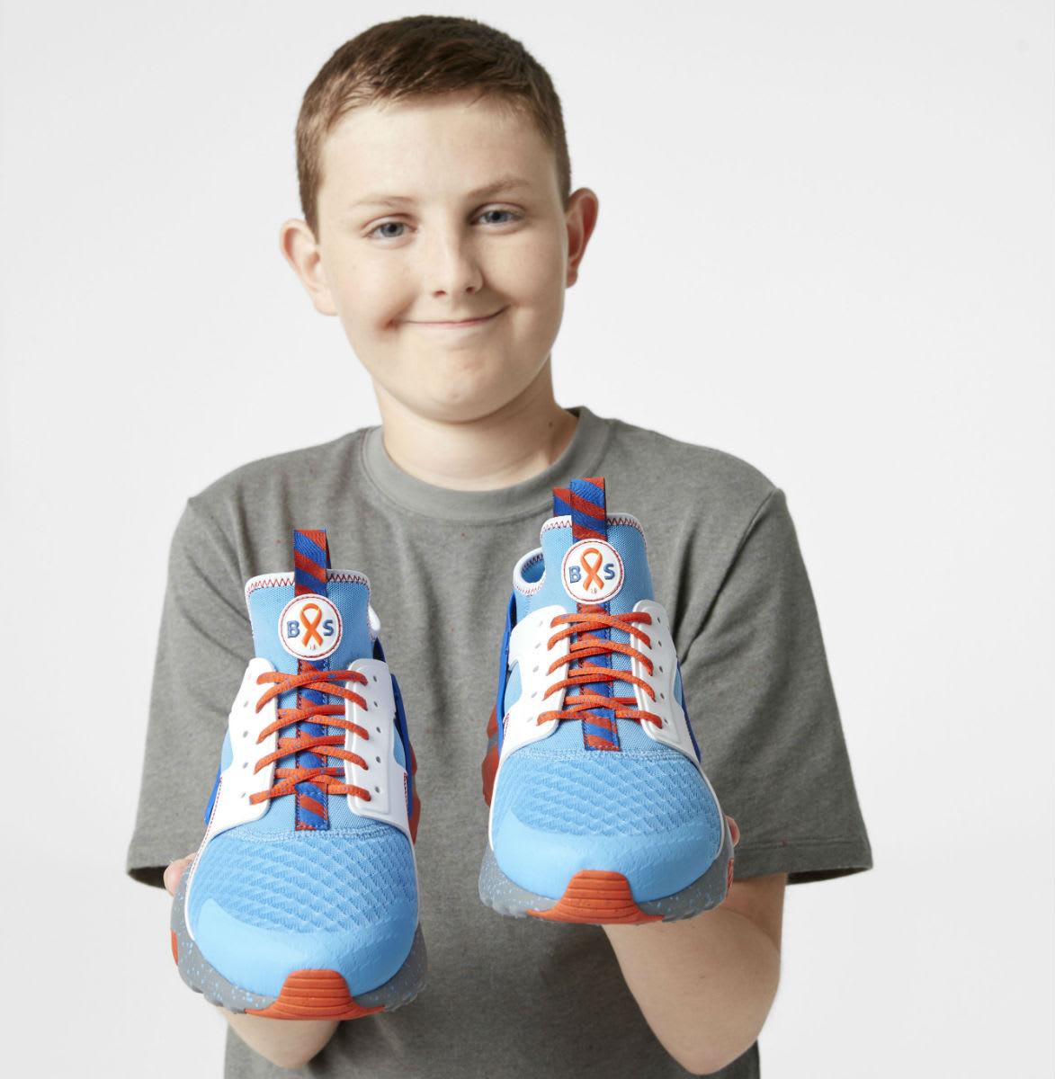 Nike Air Huarache Run Ultra Doernbecher Brayden Sparkman Release Date Portrait