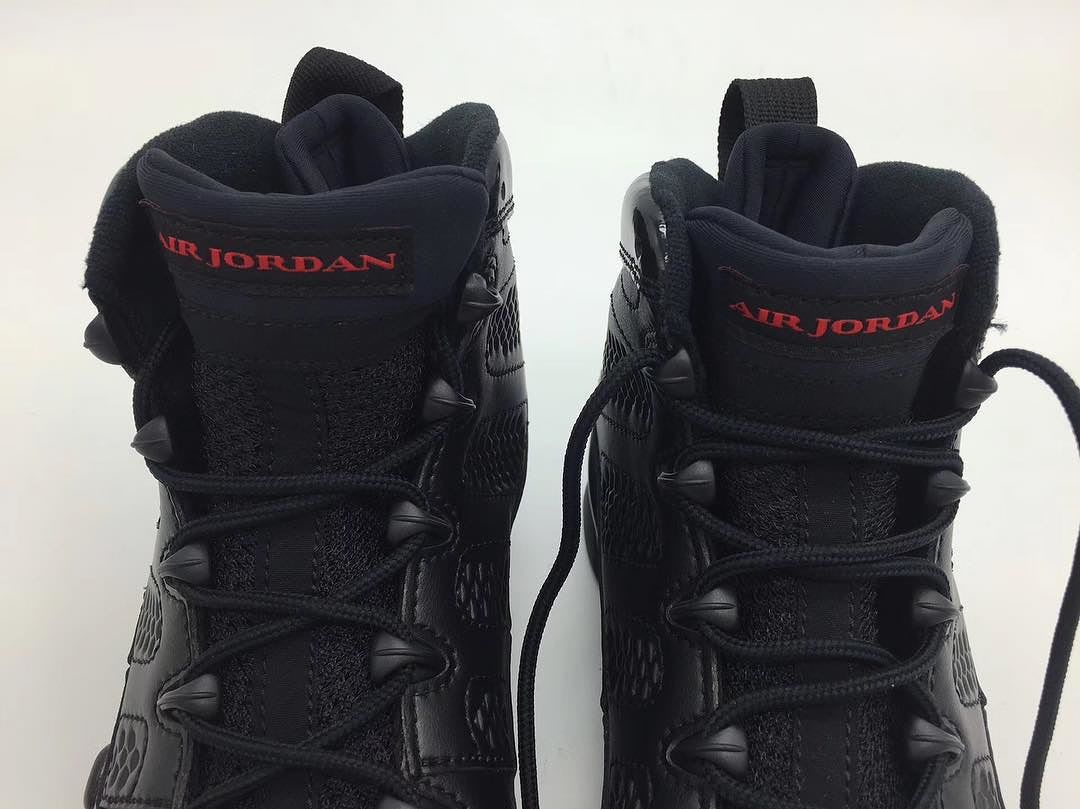 Air Jordan 9 Bred 2018 Release Date 302370-014 (3)