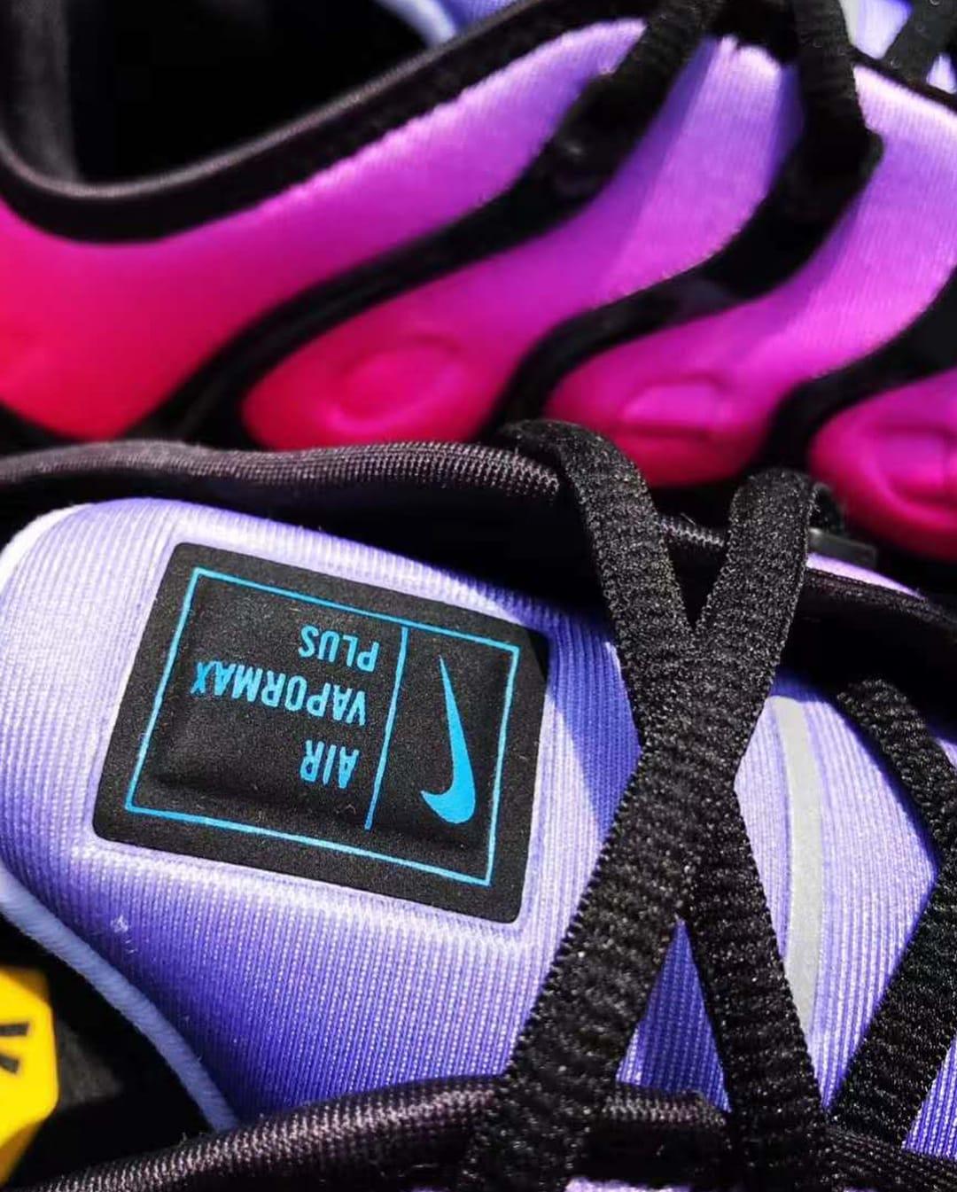 Nike Air VaporMax Plus 'Be True' Purple Pulse/Pink Blast AR4791-500 (Tonuge)