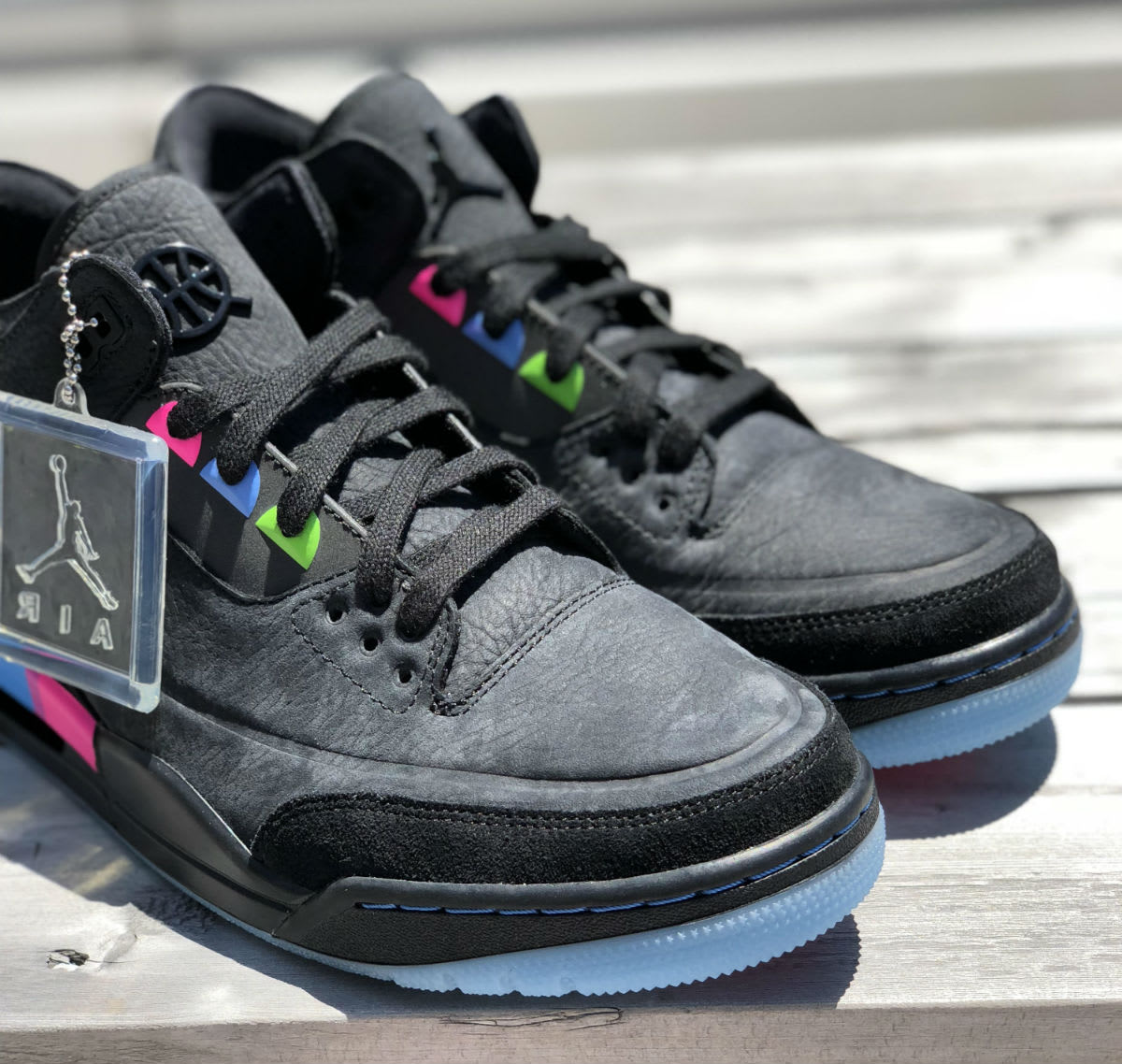 Air Jordan 3 III Quai 54 Release Date AT9195-001 Front