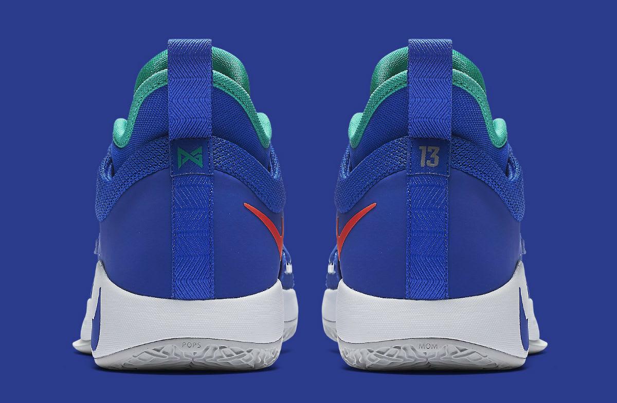 ace6d6d381a Image via Nike Nike PG 2.5 Fortnite Racer Blue Release Date BQ8452-401 Heel