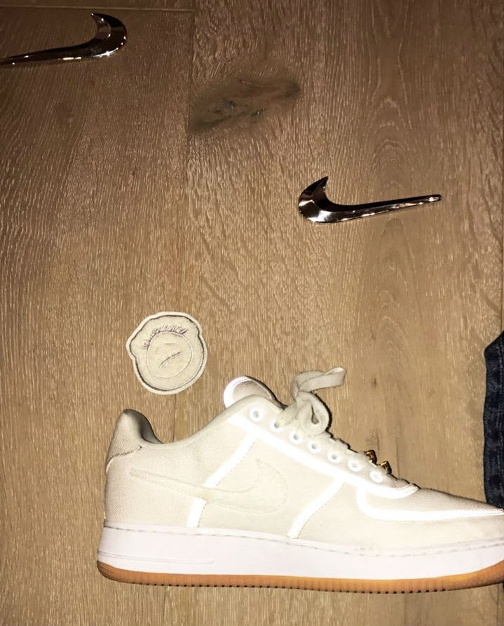 c6cd5664 Travis Scott x Nike air Force 1 Low Cactus Jack | Sole Collector