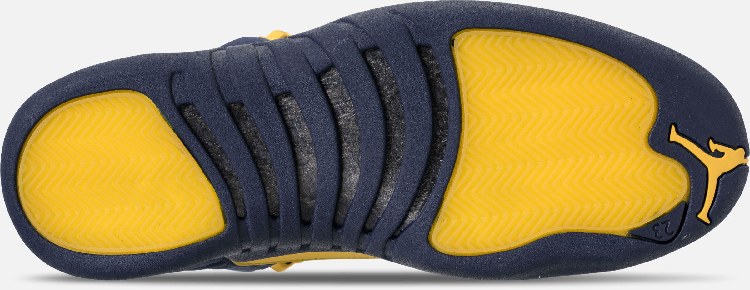Air Jordan 12 XII Michigan Release Date BQ3180-407 Sole