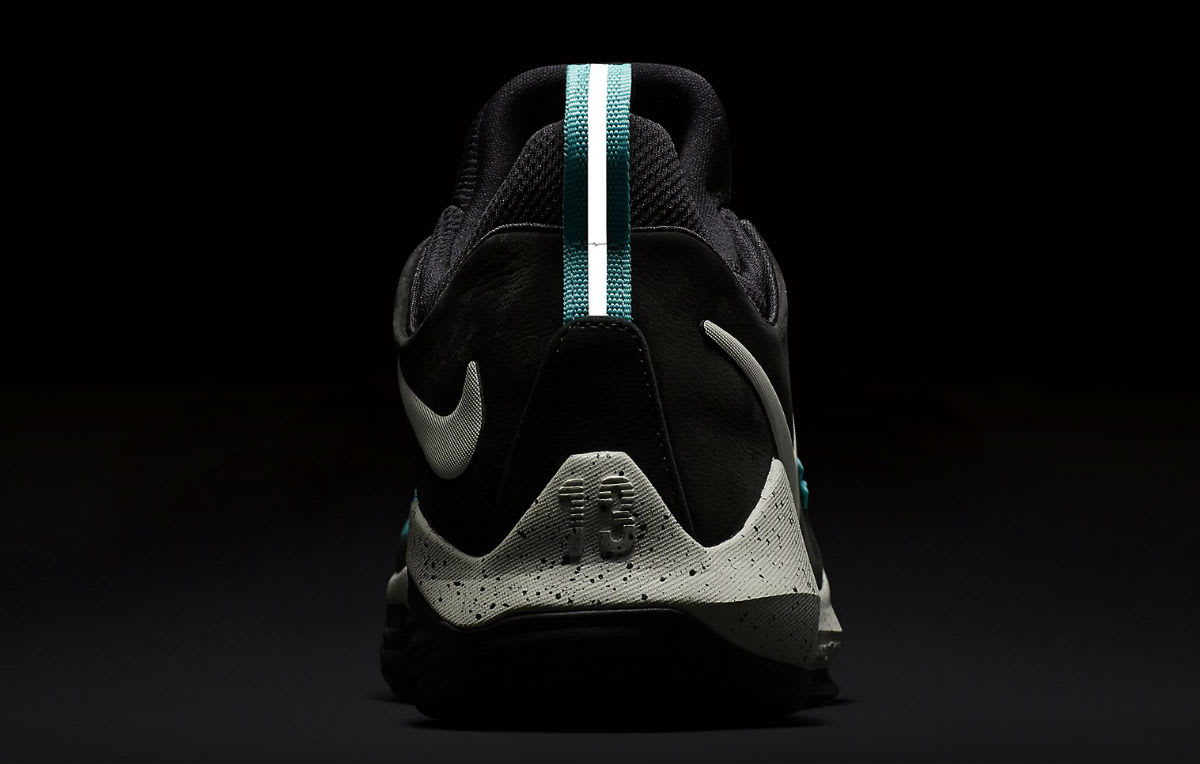 Nike PG 1 Black Light Bone Light Aqua Release Date 3M 878628-002