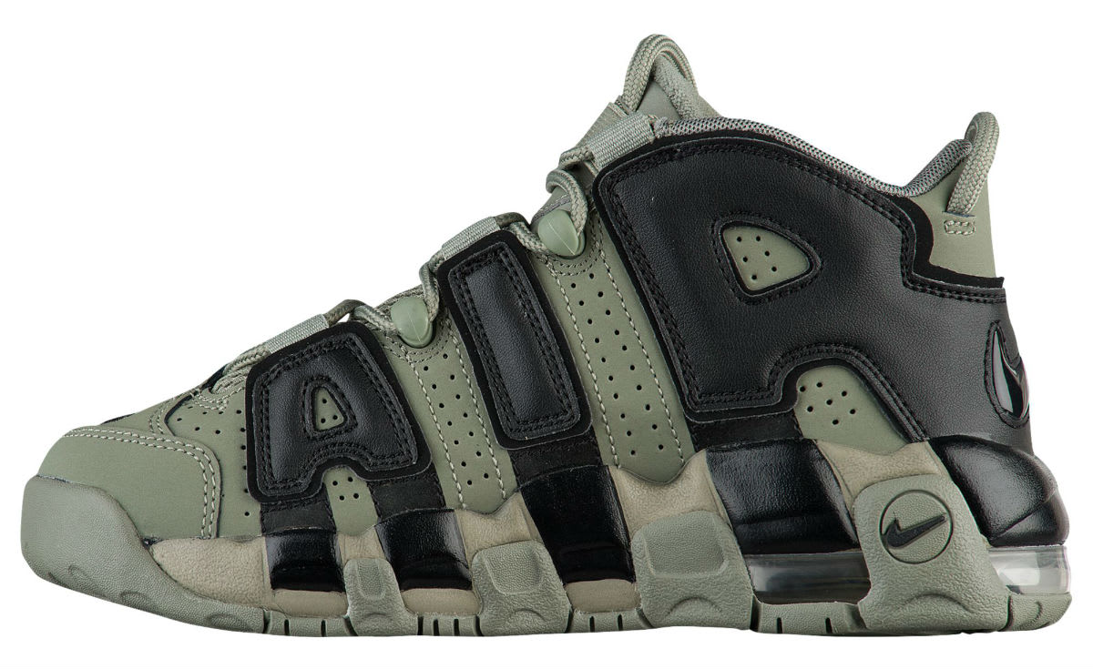 Nike Air More Uptempo Dark Stucco Release Date Medial