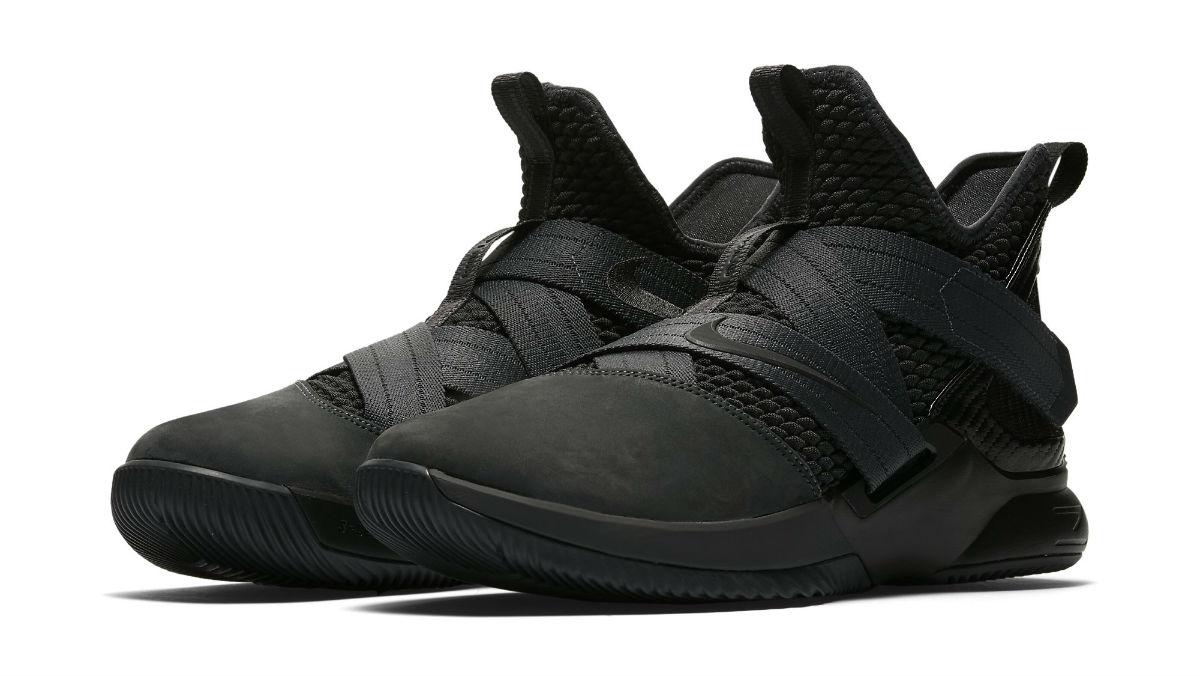 b5fc0c7da5c Nike LeBron Soldier 12 XII Zero Dark Thirty Triple Black Release Date  AO4054-002