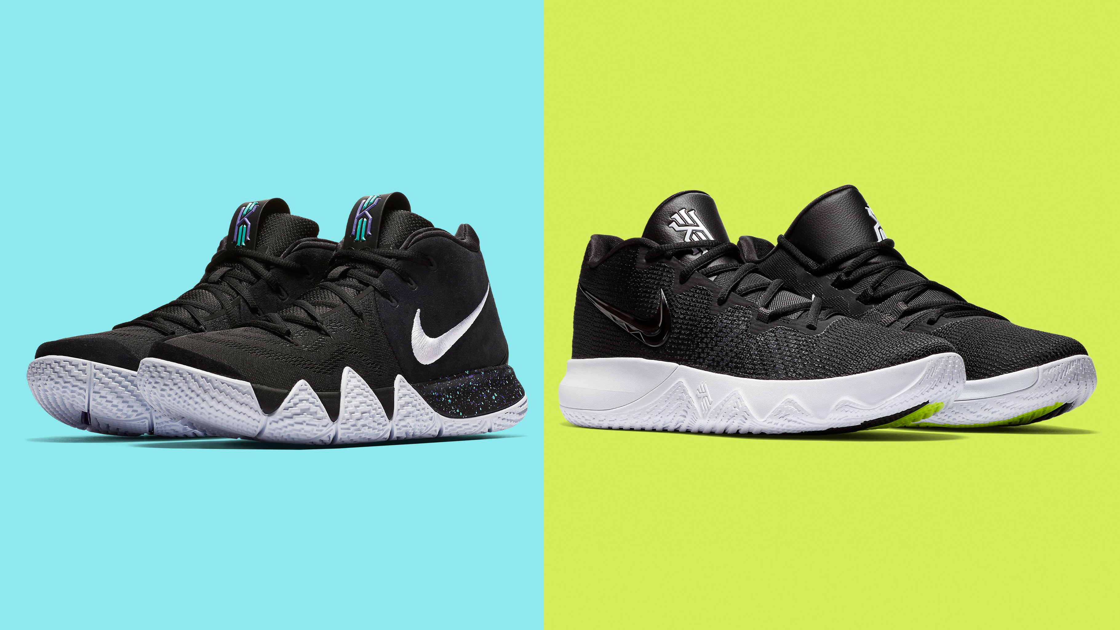 cheap for discount 04cb1 c1563 Nike Kyrie 4 vs. Nike Kyrie Flytrap