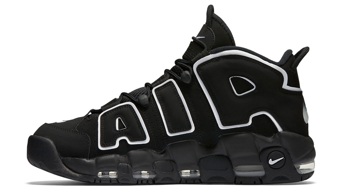 Hermana Remolque Melodioso  Nike Air More Uptempo Black White 2020 Release Date 414962-002 | Sole  Collector