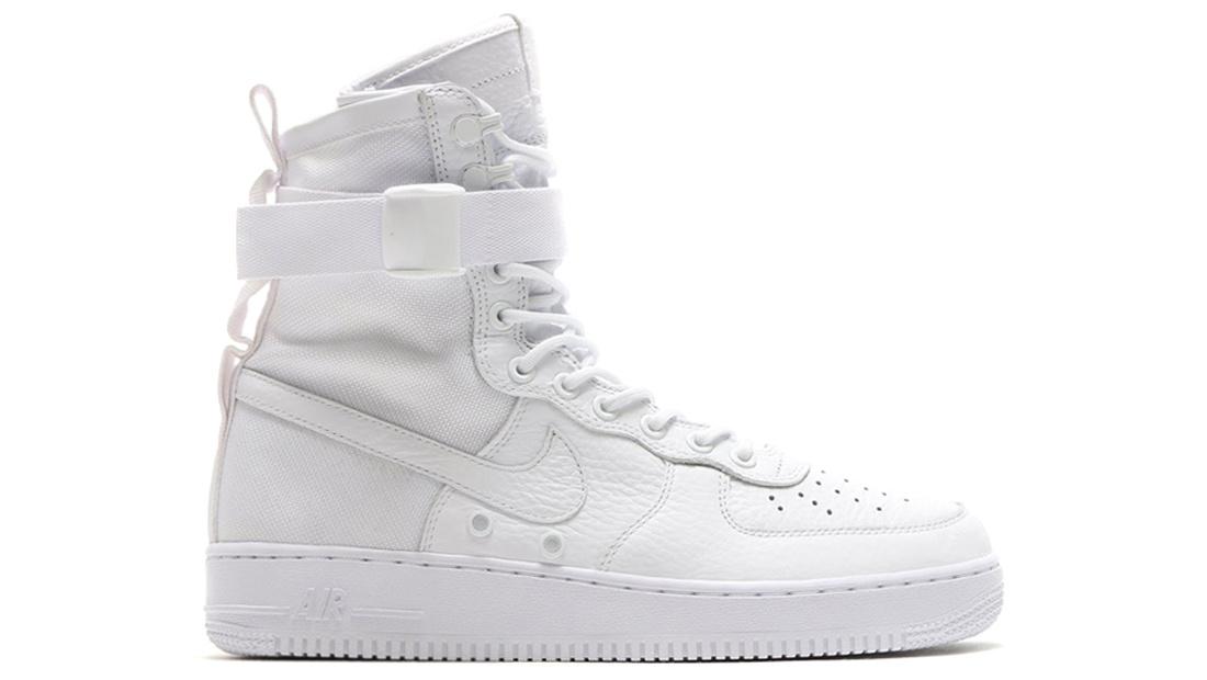 nike air force triple white