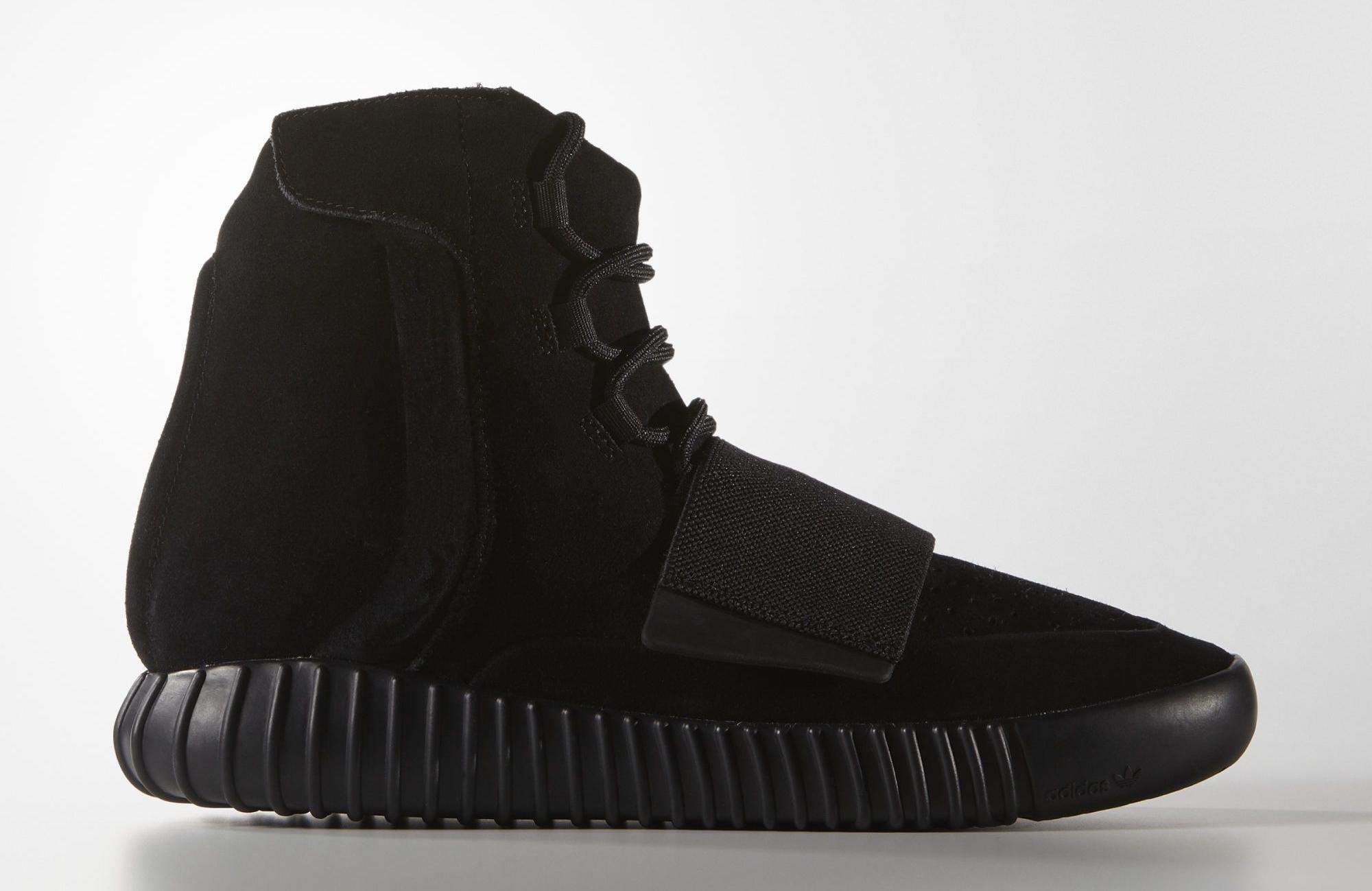 gancho Envolver preposición  Black Adidas Yeezy Boosts at Outlet | Sole Collector
