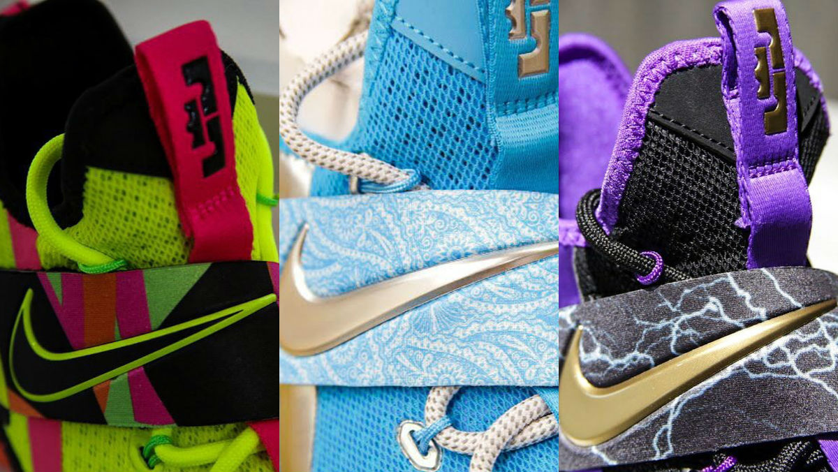 0fd244a2ff Nike LeBron 14 Ultimate Warrior AA3258-703 Ric Flair AA3258-404 Undertaker  AA3258-590 | Sole Collector