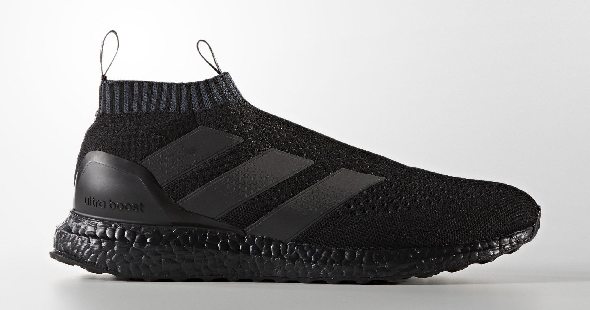 new style bdb76 caa2c Triple Black Adidas Ace 16 Ultra Boost Pure Control BY9088 ...