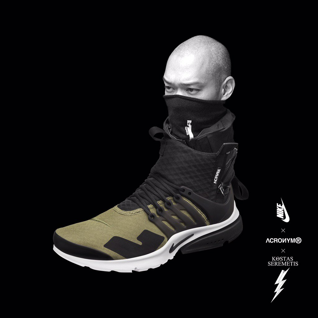 lowest price 10856 a1fff Acronym Nike Air Presto Release Date  Sole Collector