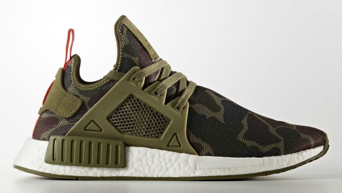 bb8bf3a2c adidas NMD XR1 Green Camo Sole Collector