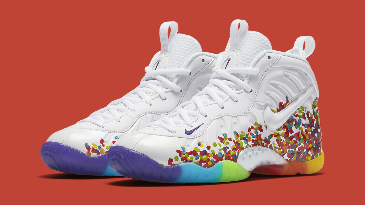 cad0fe5f7cd8a ... usa nike foamposite pro fruity pebbles release date 644792 101 sole  collector 19dba b1462