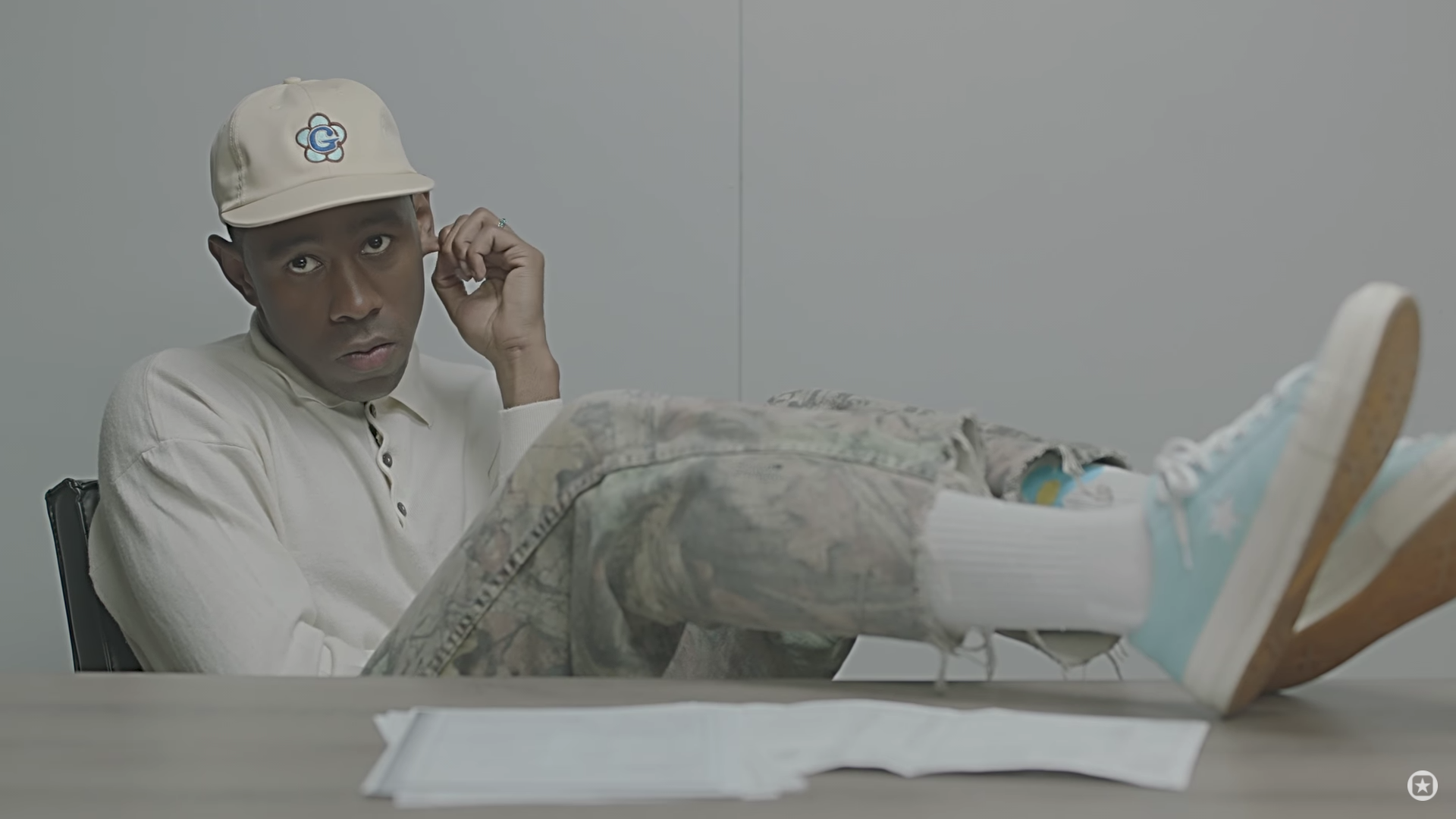 Tyler The Creator Converse One Star Sole Collector