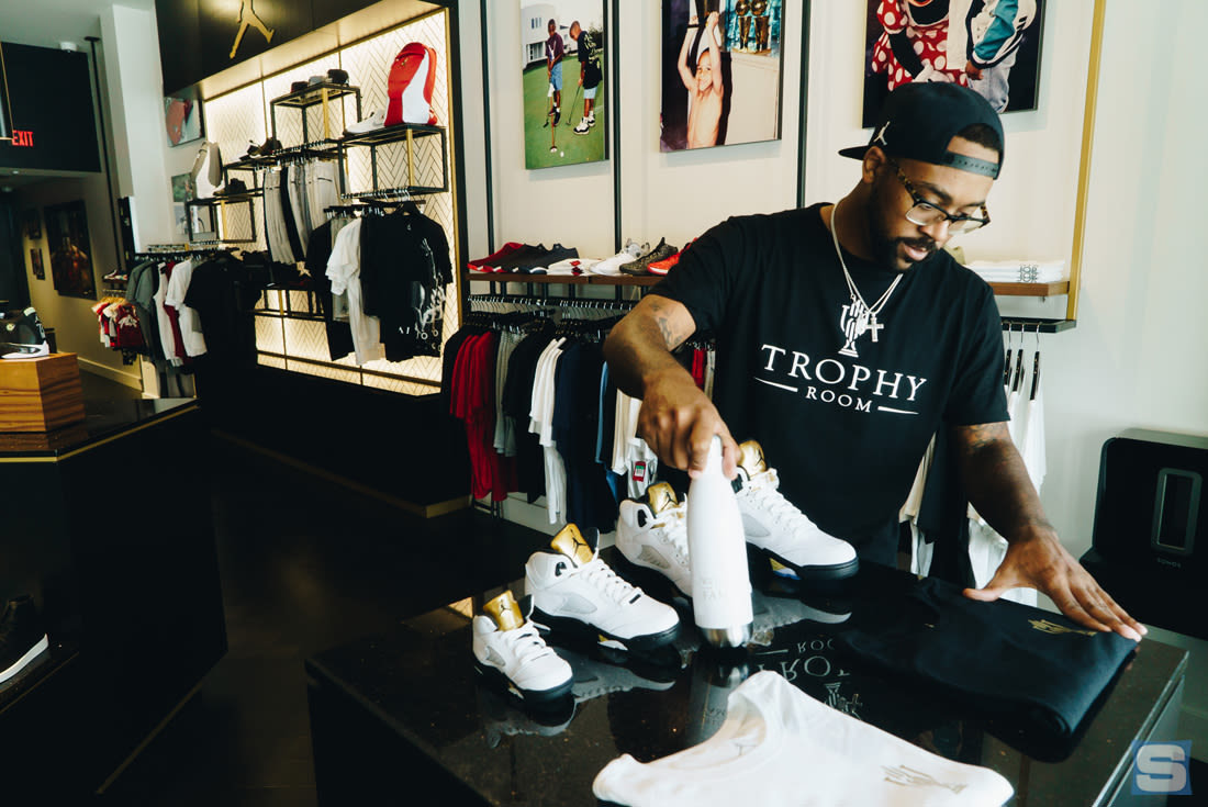 Marcus Jordan On Opening His Own Sneaker Store And Why Hes More Than Just Michael Jordans Son