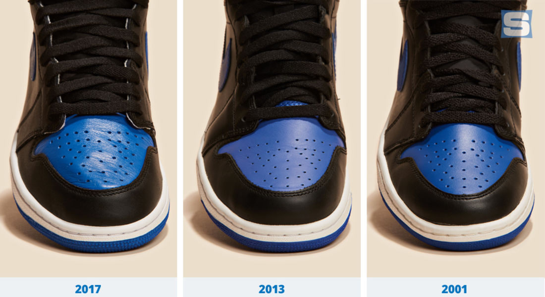 air jordan 1 royal blue 2013 box