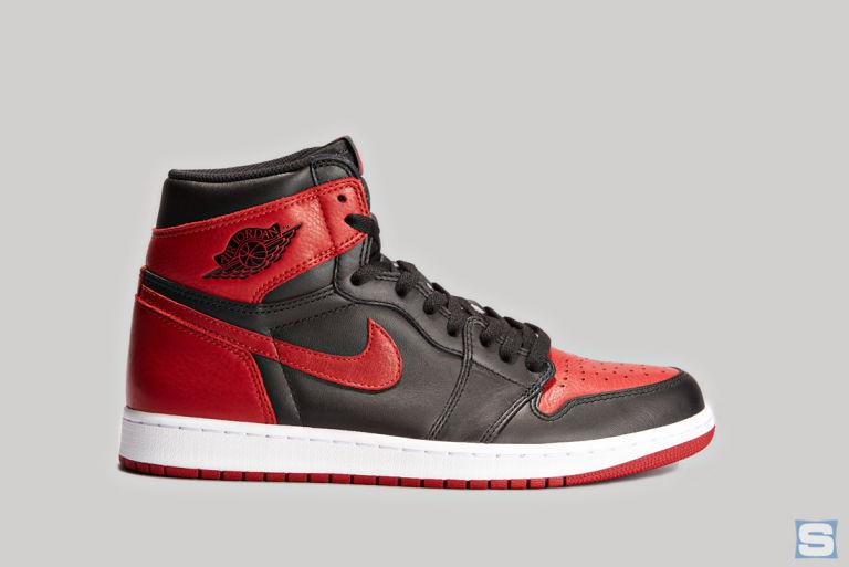 43ab156f7ea1 Banned Air Jordan 1 1985 vs. 2016 Comparison | Sole Collector