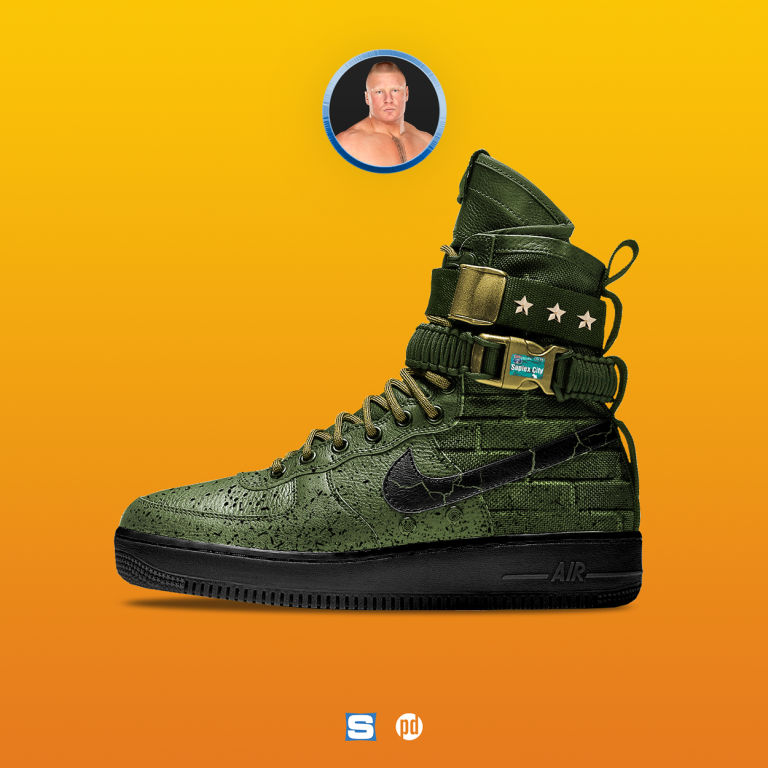 sports shoes cd897 4435e Since ending the Undertakers storied streak at Wrestlemania three years  ago, Brock Lesnar has been a nearly invincible force in the WWE.