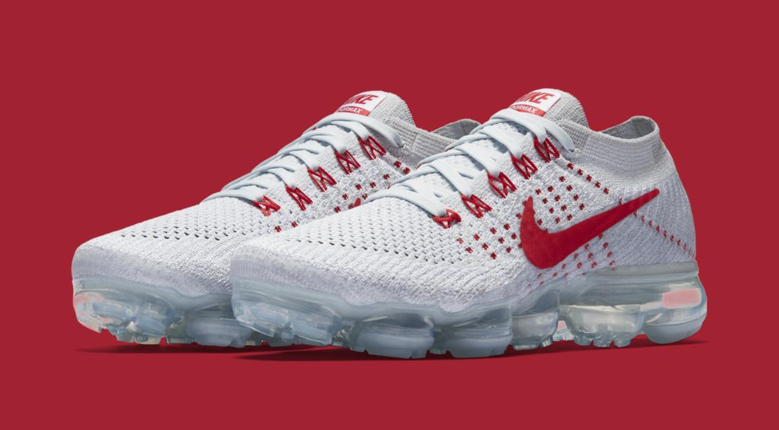 Nike CDG Air Vapormax White Wolf Grey Mens 9.5 Womens 11