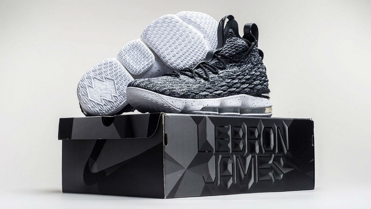 44ed814896be Nike LeBron 15 Black White Ashes Release Date 897648-002