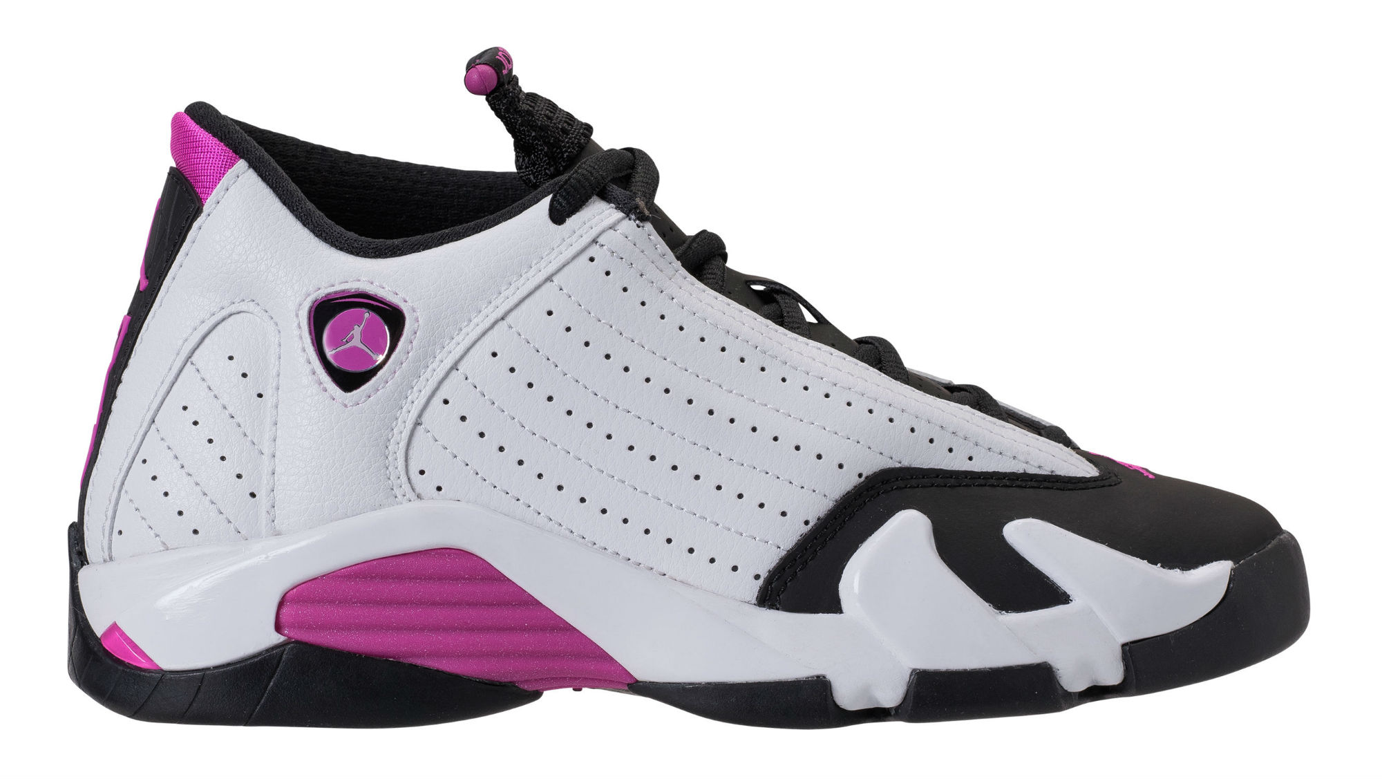 sale retailer e1fc6 2db34 Air Jordan 14 XIV Girls Fuchsia Blast Release Date 654969-119   Sole  Collector