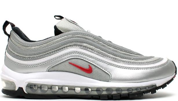 Nike Air Max '97 OG Metallic Silver/Varsity Red-Black