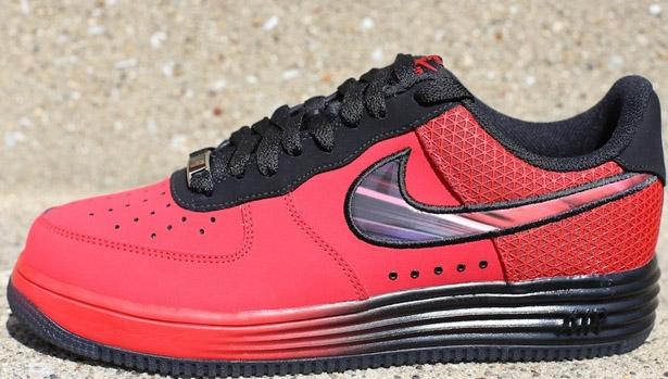 Nike Lunar Force 1 LTR University Red/Challenge Red-Black