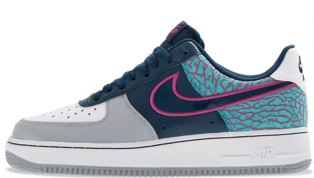Nike Air Force 1 Low Midnight Navy/Midnight Navy-Fusion Pink
