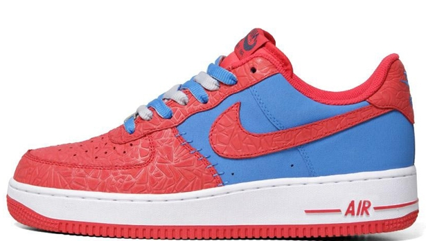 Nike Air Force 1 Low Photo Blue/Hyper Red