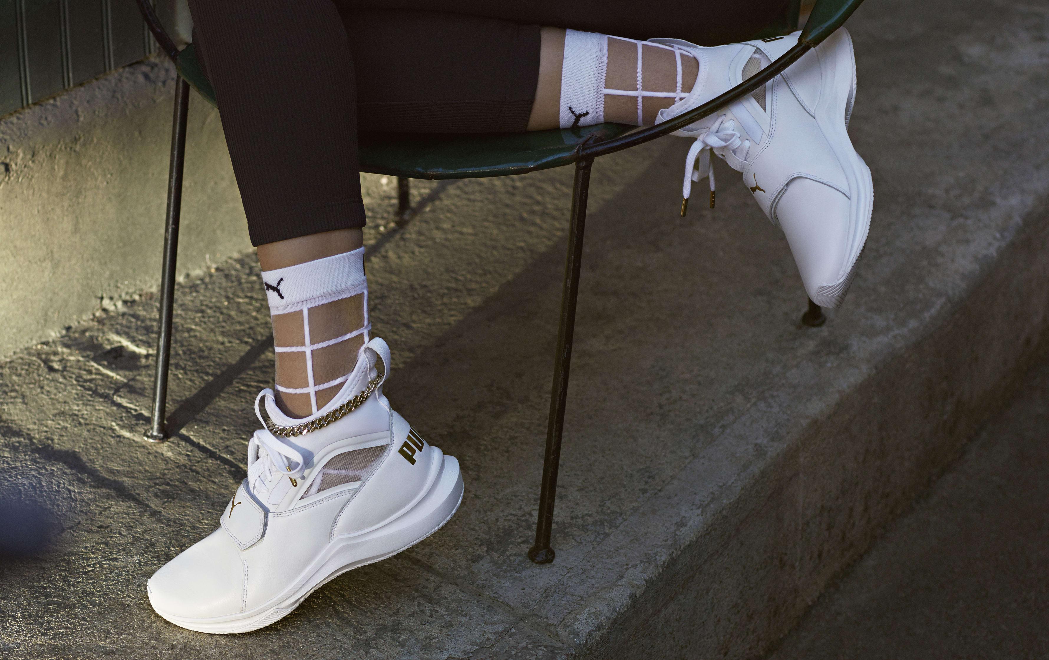81e6683a960c99 Selena Gomez debuts her own Puma shoe