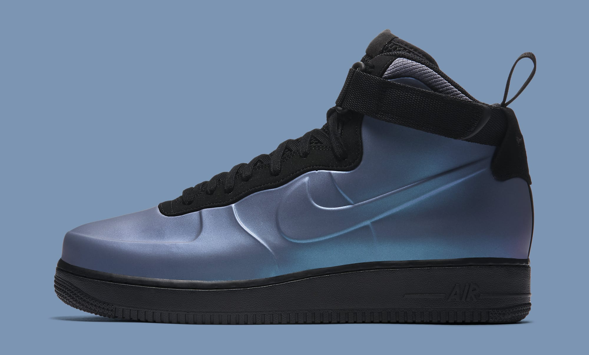 save off 9ee71 12776 Unlike most of the early Air Force 1 Foamposite releases, this pair does  not expose the midsole s Nike Air bubble, and instead has a more  traditional opaque ...
