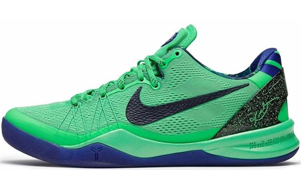 Nike Kobe 8 System Elite Poison Green