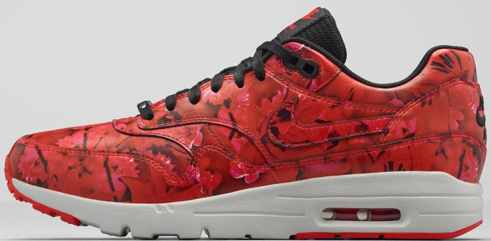 Nike Air Max 1 Ultra Women's Challenge Red/Summit White-Black-Challenge Red