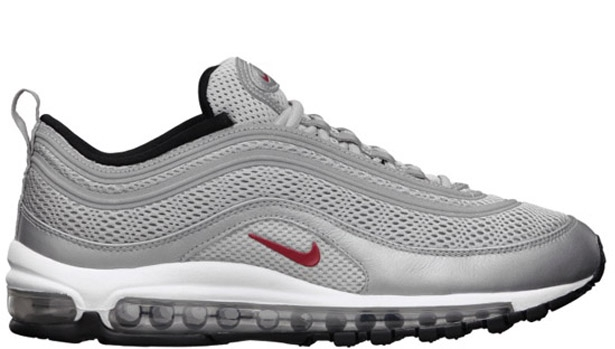 Nike Air Max '97 EM Metallic Silver/Varsity Red-Black