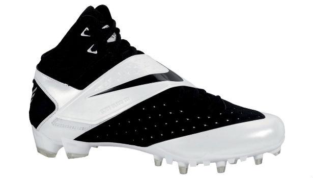 Nike CJ81 Elite TD Cleat White/Black