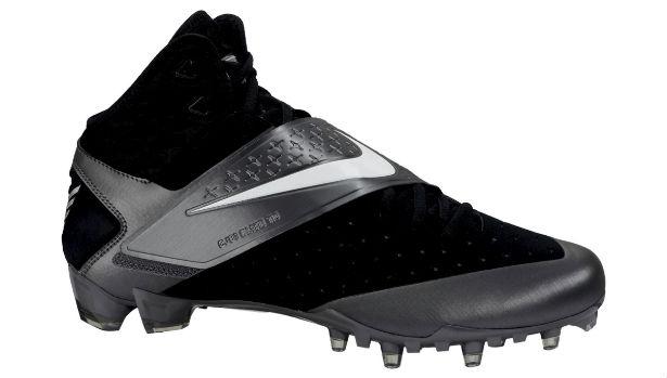 Nike CJ81 Elite TD Cleat Black/Silver