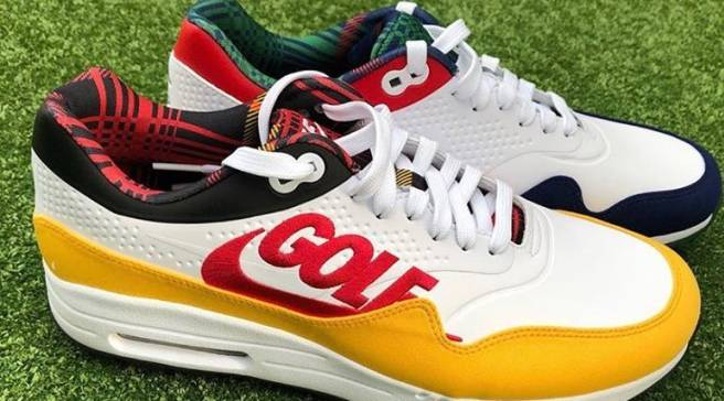 pretty nice dca65 ef0f3 Crooks   Castles Unveiled Its Nike Air Max 1 Golf Collab