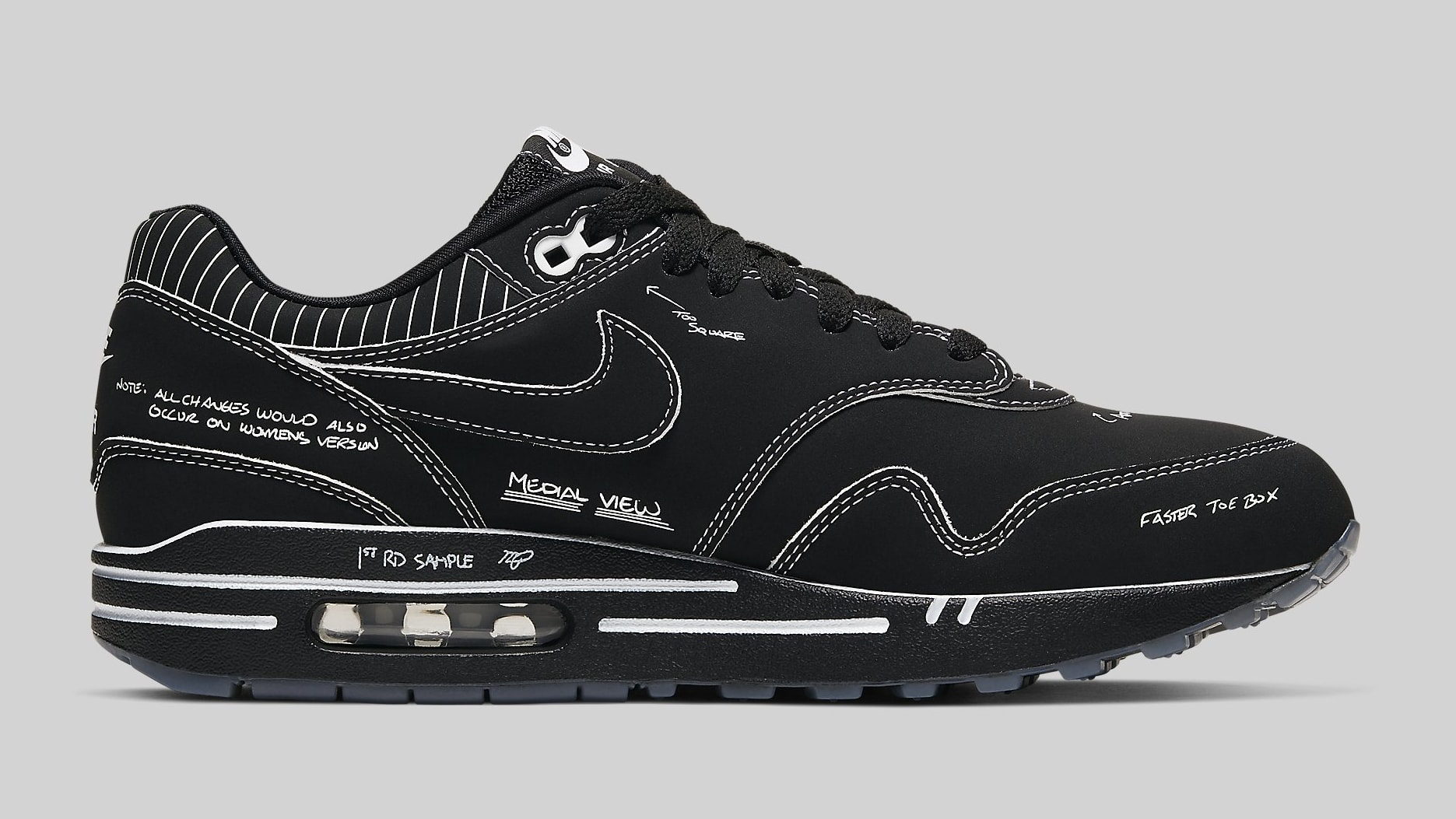Schematic Black Release Hatfield Tinker Aug92019 Nike Max Air 1 dCsQthr