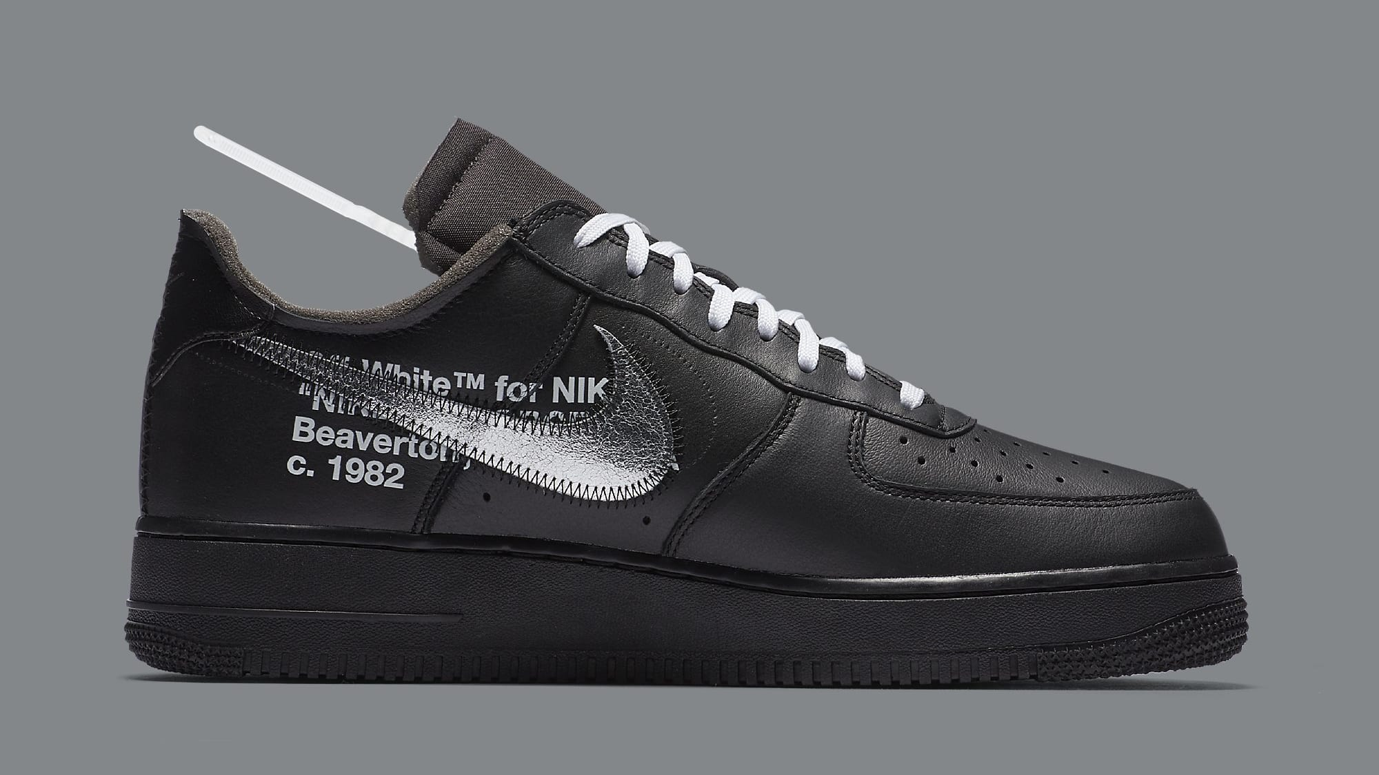 Nike White AgainSole Collector Air Force Off X Dropping 1 'moma' K13TlFJc