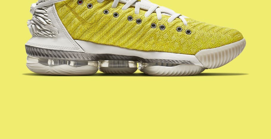 1f8ffbc2123 Nike LeBron 16 HFR Bright Citron Release Date CI1145- 700