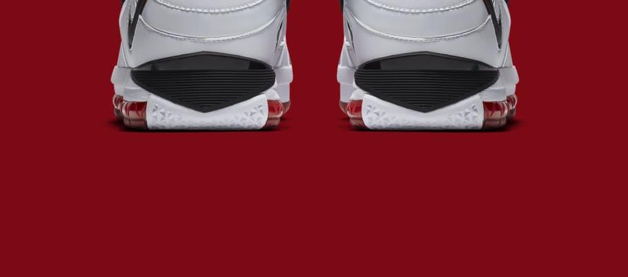 4682cfe1a6b4b Nike Zoom LeBron 3  Home  White Black-Varsity Crimson AO2434-101 Release  Date