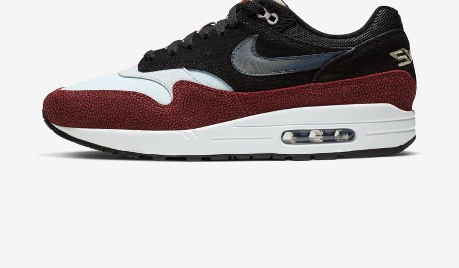 reputable site a3e15 a9976 De Aaron Fox x Nike Air Max 1  Swipa  Release Date   Sole Collector