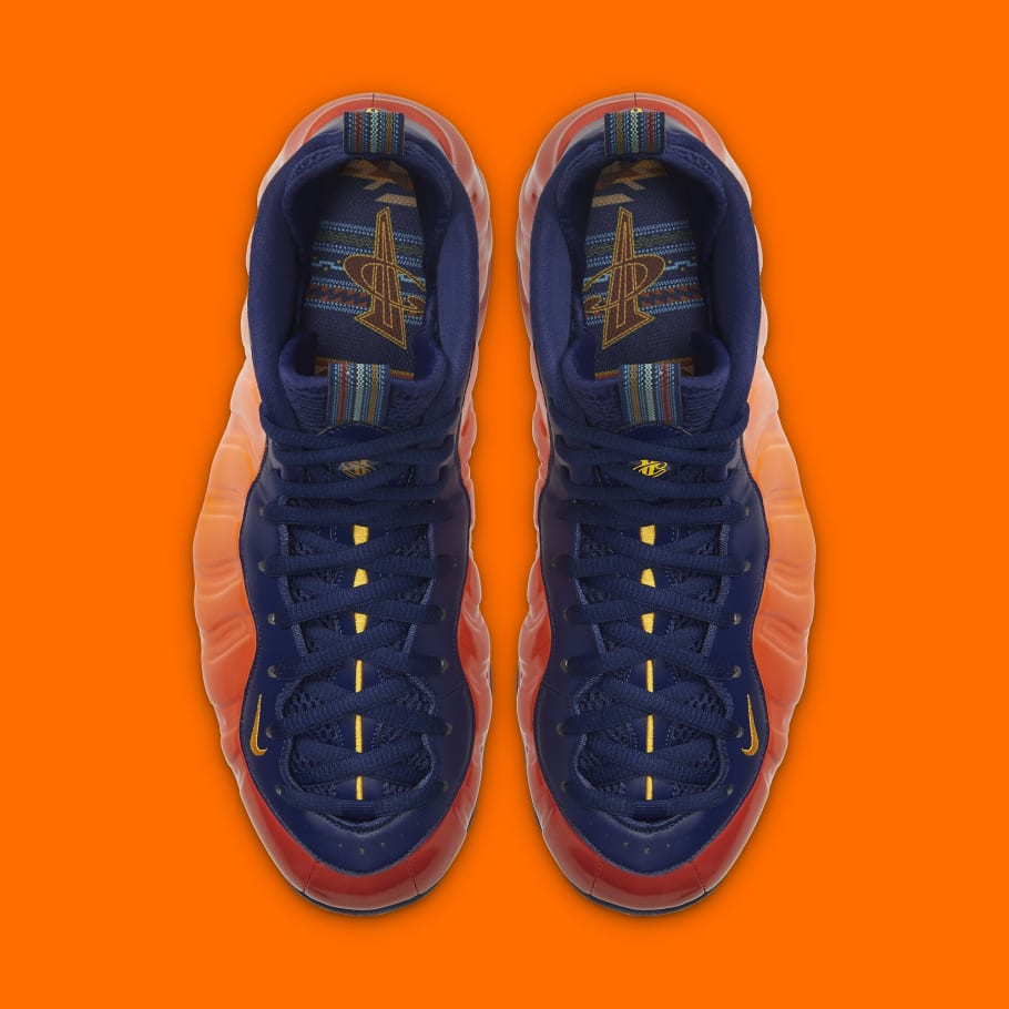 NIKE AIR FOAMPOSITE ONE UNIVERSITY BLUE l The ...