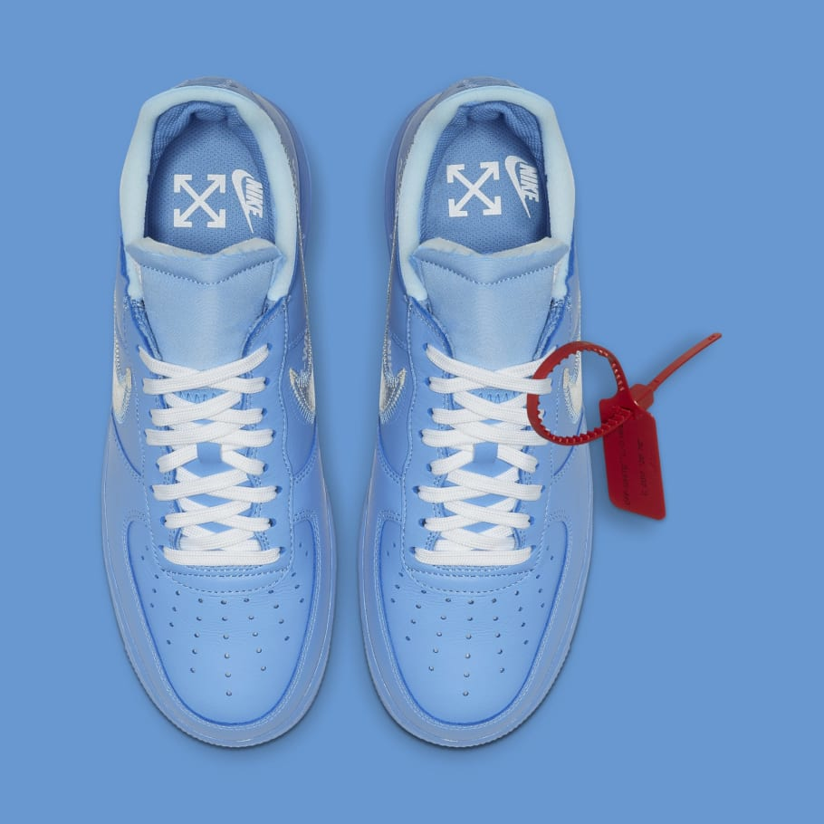 Virgil Abloh's New Air Force 1s Aren't Releasing at MCA